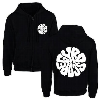 Liquid Logo Zip-Up Hoodie (Black)