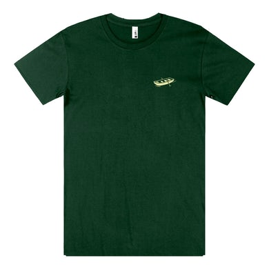 Bloom Down the Stream T-shirt (Forest Green)
