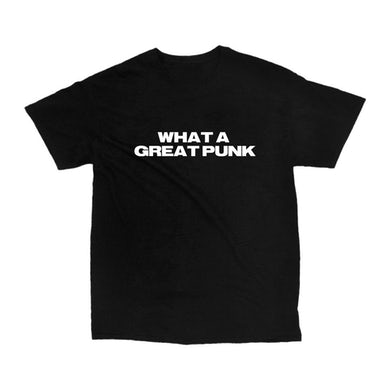 What A Great Punk Tee (Black)