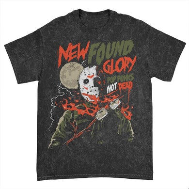 New Found Glory Jason Mineral Wash Tee (Black)