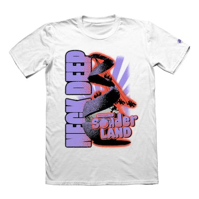 Neck Deep Welcome To Tee (White)
