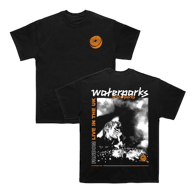 Waterparks Orange Tee (Black)