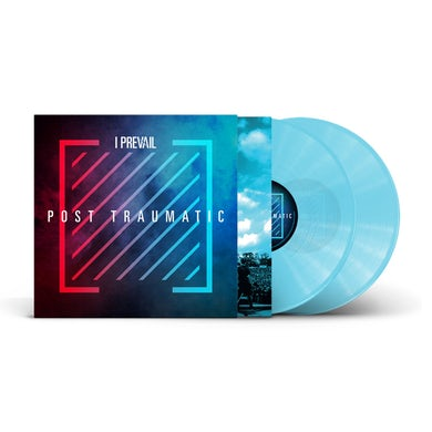I Prevail Post Traumatic - Live/Deluxe 2LP (Transparent Electric Blue) (Vinyl)