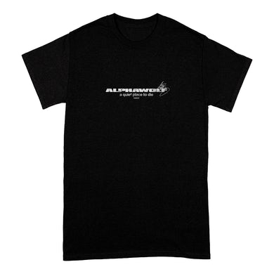 Alpha Wolf A Quiet Place To Die T-shirt (Black)