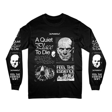 Alpha Wolf A Quiet Place To Die Longsleeve (Black)