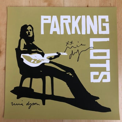 """Parking Lots Signed Poster (12"""" x 12"""")"""