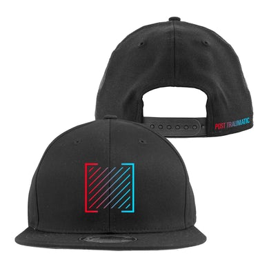 I Prevail Post Traumatic Gradient Snap Back Hat