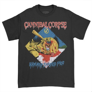 Cannibal Corpse Hammer Smashed Face T-Shirt (Black)