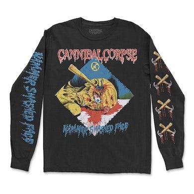Cannibal Corpse Hammer Smashed Face Longsleeve (Black)