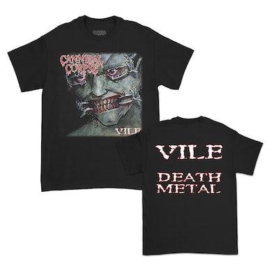 Cannibal Corpse Vile DM T-Shirt (Black)