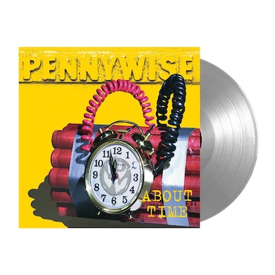 Pennywise About Time LP (25th Anniv. Limited Edition Silver) (Vinyl)