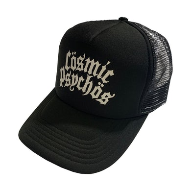 Text Logo Trucker Hat