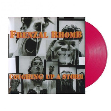 Frenzal Rhomb Coughing Up A Storm LP (4 Litres Lindemans Classy Red Vinyl)