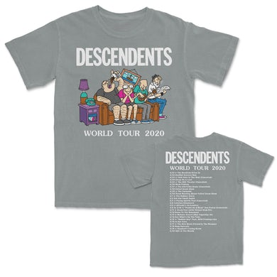 World Tour 2020 Tshirt (Granite)