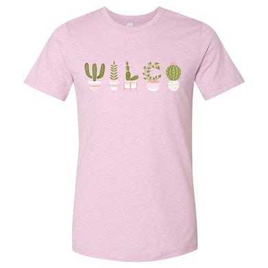 Wilco Potted Plants T-shirt (Pink)