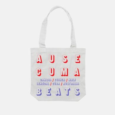Ausecuma Beats Logo Tote Bag (White)