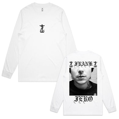 Frank Iero Bloody Nose Long Sleeve (White)