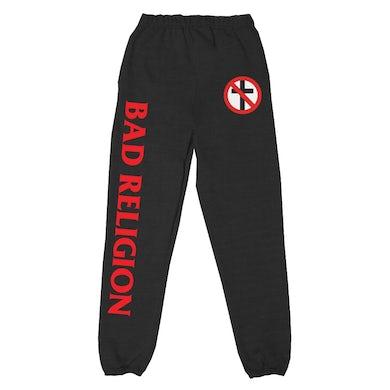 Bad Religion Crossbuster Track Pants (Black)
