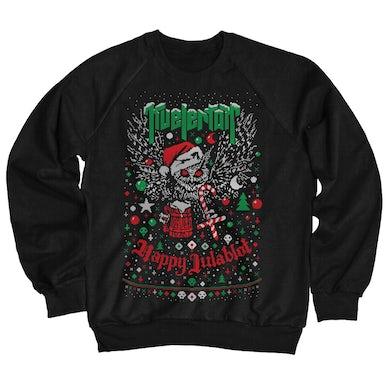 Happy Julablot Sweatshirt (Black)