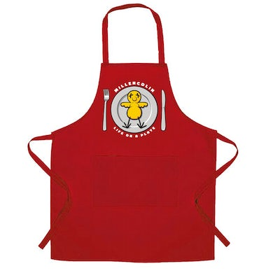 Millencolin Life on a Plate Apron (Red)