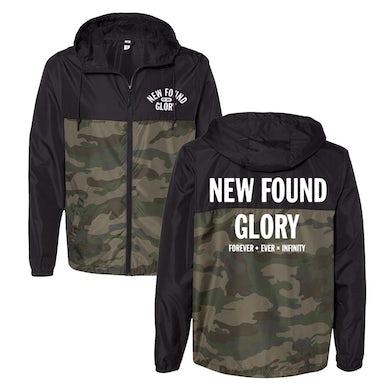 New Found Glory Infinity Windbreaker (Black/Camo)