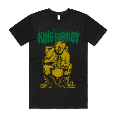 King Parrot Kick Up A Stink Tee (Black)