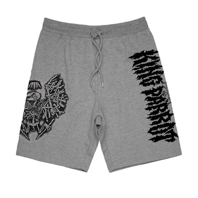 Holed Up In The Lair Shorts (Grey)