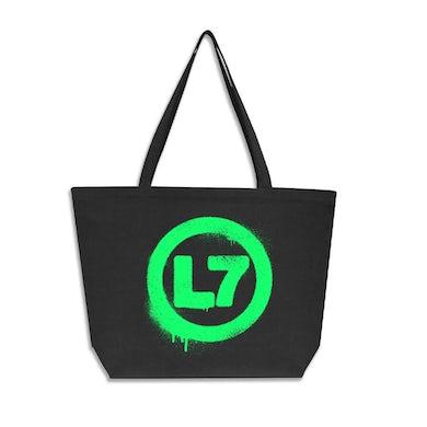Spray Logo Oversized Tote Bag