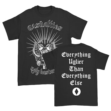 The Casualties Ugly Bastards Tee (Black)