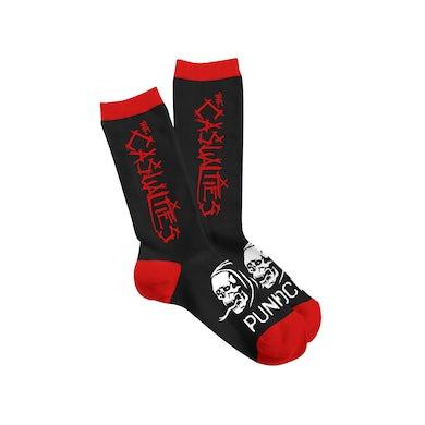 The Casualties Logo Socks
