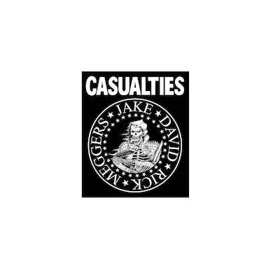 The Casualties Ramones Sticker