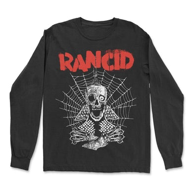 Rancid Spiderweb Long Sleeve (Black)