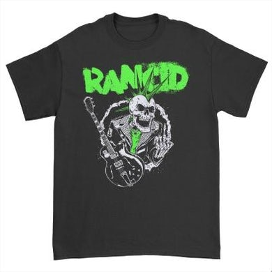 Rancid SkeleTim Guitar T-Shirt (Black)