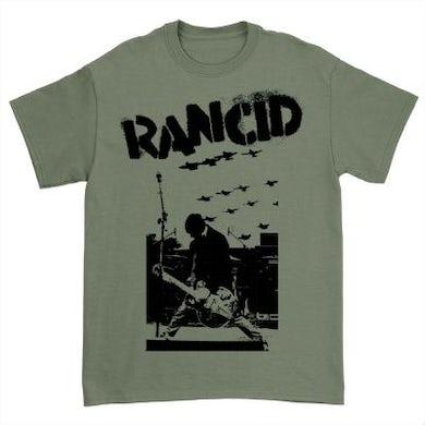 Rancid Planes T-Shirt (Military Green)