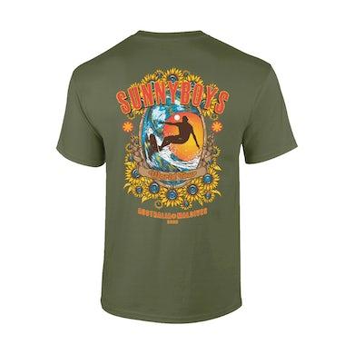 Sunnyboys World Tour 2020 T-shirt (Military Green)