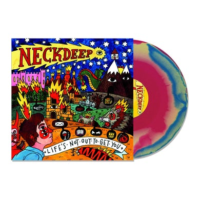 Neck Deep Life's Not Out To Get You LP (Pink/Blue/Yellow) (Vinyl)