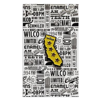 Wilco California Enamel Pin
