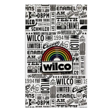 Wilco Rainbow Enamel Pin