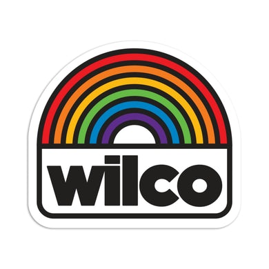 Wilco Rainbow Sticker