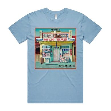 Even Down The Shops Tee (Blue)