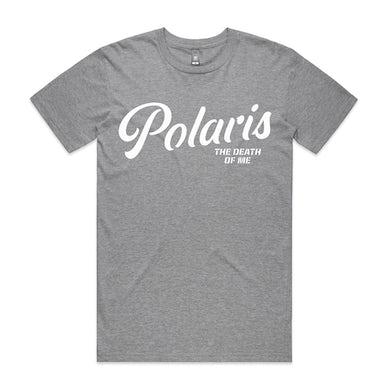 Polaris Script Tee (Grey Marle)