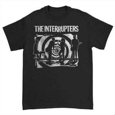 The Interrupters Psych T-Shirt (Black)
