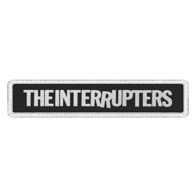 The Interrupters Logo Patch (Black/White)