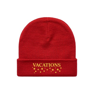 Vacations Star Logo Beanie (Red)