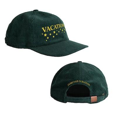 Vacations Star Logo Cord Hat (Pine Green)