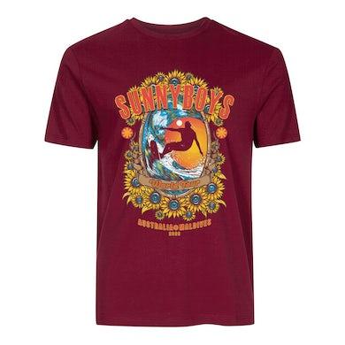 Sunnyboys World Tour 2020 T-shirt (Maroon)