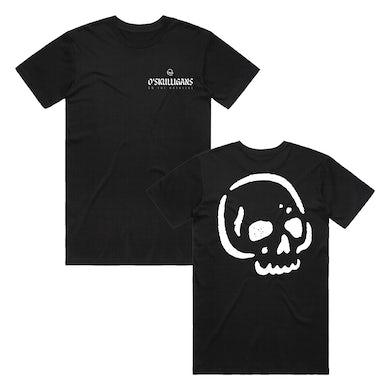 O'Skulligans Skull & Logo T-Shirt (Black)