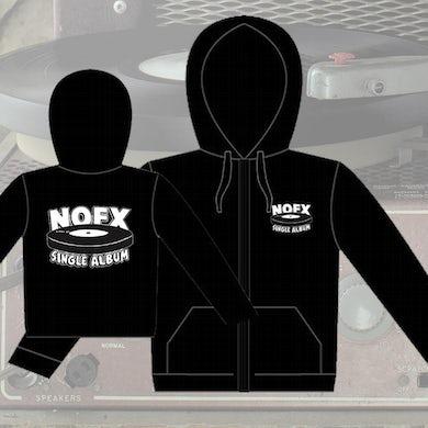 Nofx Single Album Zip Hoodie (Black)