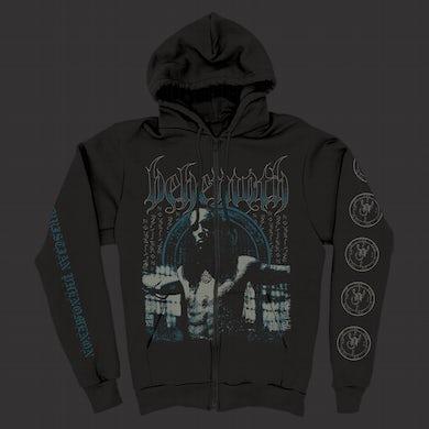 Behemoth Anti-Christian Zip Up Hoodie (Black)