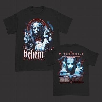 Behemoth Thelema.6 EU Tour T-Shirt (Black)